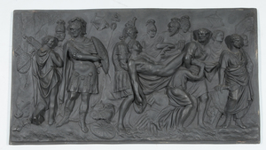 Wedgwood Plaque The Death of Meleager