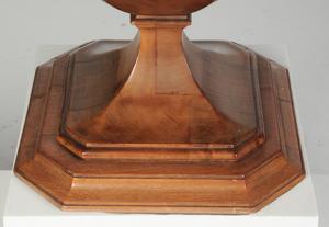 Regency Style Pedestal Form Knife Box