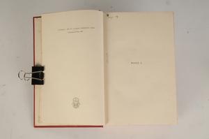 Edith Wharton Autographed Novel