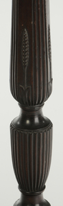Charleston Chippendale-Style Carved Pedestal
