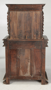 Italian Renaissance Style Carved Walnut Cabinet