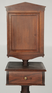 Classical Style Mahogany Shaving Stand