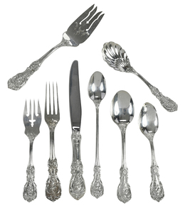Approx 45 pieces Francis I Sterling Flatware