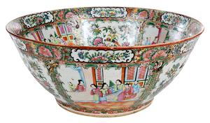 Rose Mandarin Punch Bowl