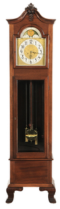 Mahogany Chiming Tall Case Clock