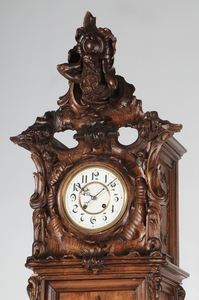 Fine Louis XV-Style Figural Tall Case Clock