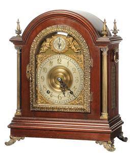 Tiffany & Co. Quarter Chiming Bracket Clock