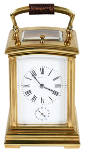 Tiffany & Co. Repeater Carriage Clock with Case