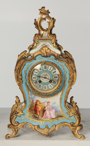 Louis XV Style Japy Freres Clock Garniture