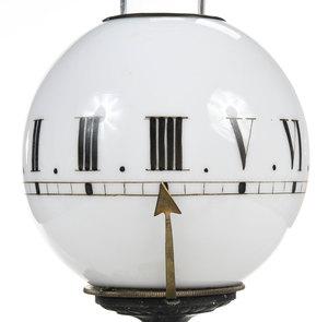 Figural Night Light Eight Day Clock