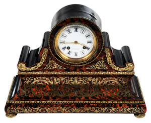 French Boulle Mantel Clock
