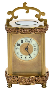 Gilt Brass Carriage Clock