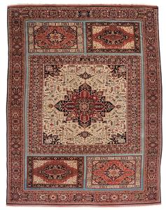 Palace Size Heriz Style Carpet