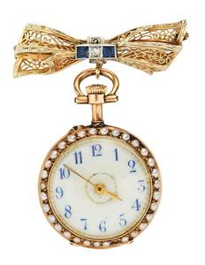 18kt. Ladies Pocket Watch