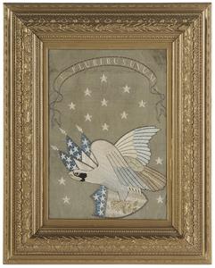 Patriotic American Eagle Needlework