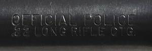 Colt Official Police .22LR Revolver