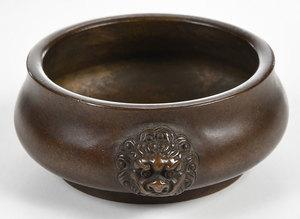 Three Chinese Bronze Censers