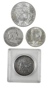 Aprox. 76 Troy Ounces of Silver Coins