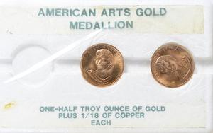 Six Troy Ounces of Gold Bullion Coins