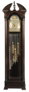 American Mahogany Chiming Tall Case Clock