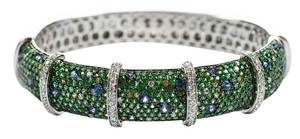 18kt. Diamond & Gemstone Bracelet