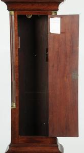 Rare Ephraim Willard Mahogany Tall Case Clock