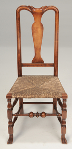 Two American Queen Anne Style Chairs