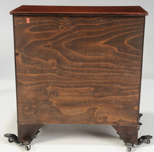 American Federal Inlaid Mahogany Chest