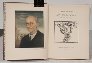Eight Arthur Rackham Illustrated Books
