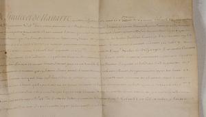Louis XIV Document, 1710
