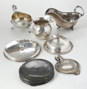 18 Assorted Silver Items