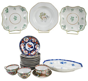 20 Pieces of Hand Painted Porcelain Dinnerware