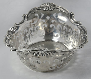 Three Sterling Table Items