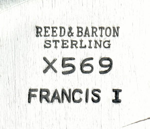 Francis I Sterling Bowl