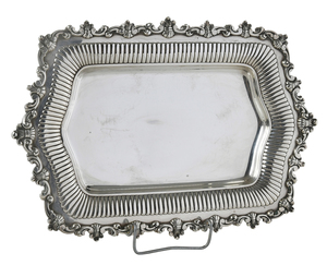 Sterling Footed Tray