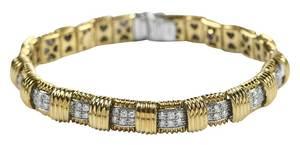 Roberto Coin 18kt. Diamond Bracelet