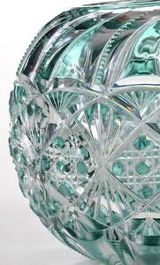 J. Hoare Brilliant Period Cut Glass Rose Bowl