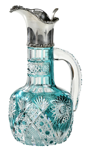 Hawkes Brilliant Period Cut Glass Ewer