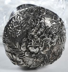 Brilliant Period Cut Glass Flask
