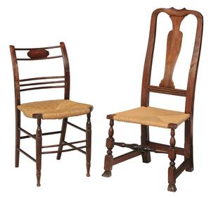 Queen Anne Side Chair, Sheraton Side Chair