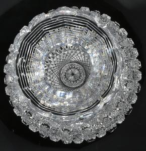 Egginton Brilliant Cut Glass Flower Center