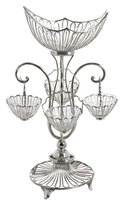 Silver-Plate Epergne