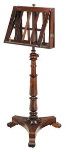 Regency Rosewood Adjustable Music Stand