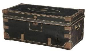 Chinese Brass-Mounted Chest