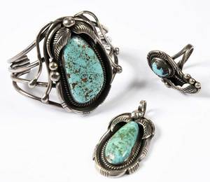 Three Pieces Ed Kee Jewelry