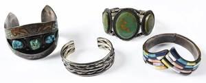 Four Southwestern Bracelets