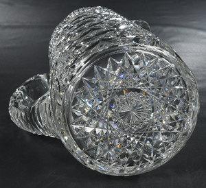 Hawkes Brilliant Period Cut Glass Pitcher/Tumblers