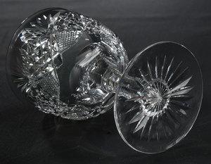 Hawkes Brilliant Period Cut Glass Decanter and Stems