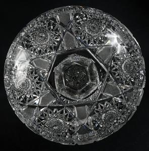 Three Brilliant Period Cut Glass Compotes