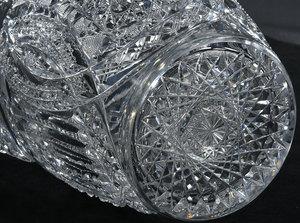 Clark Brilliant Period Cut Glass Ewer